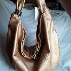 New Gold Hobo Bag